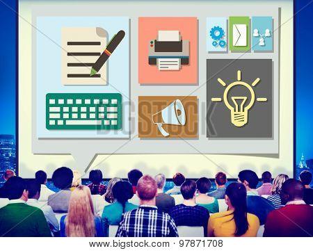 Content Blog Blogging Idea Media Internet Email Concept