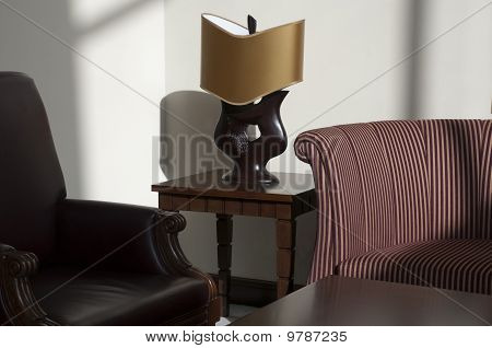 Lamp And Chairs