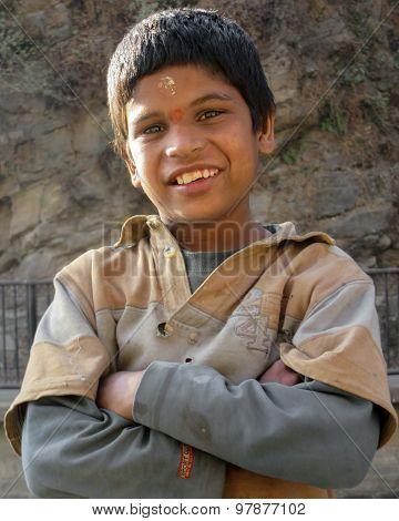 Orphaned Street Boy