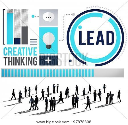 Lead Leadership Coach Trainer Management Concept