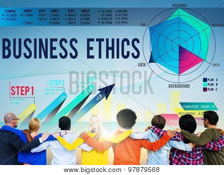 Business Ethics Integrity Moral Honest Concept
