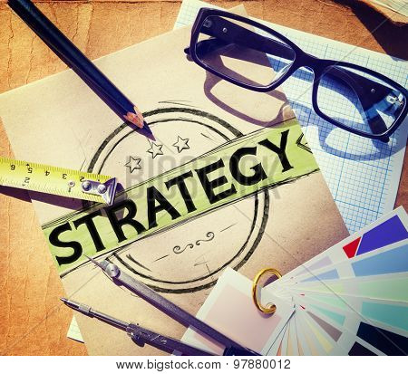 Strategy Business Planning Ideas Critical Thinking Analysis Thoughts Concept