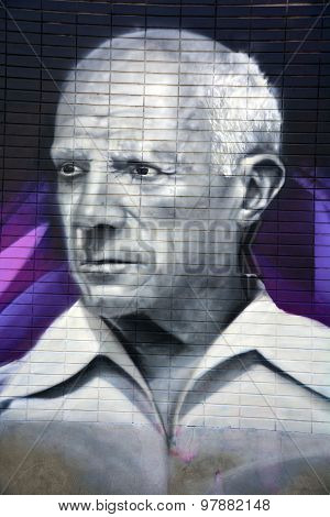 Street art Montreal Pablo Picasso