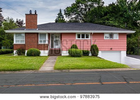 North American bungalow from the sixties.