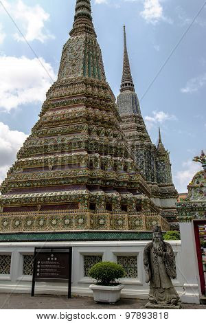 Chinese Rock Giant at Wat Phra Kaew, Emerald Buddha Temple