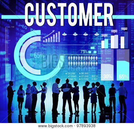 Customer Service Satisfaction Buyer Consumer Concept