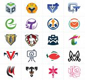 Постер, плакат: Symbols Signs Icons Set