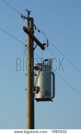 Power Pole Transformer