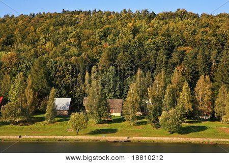 View on Radkow Reservoir, Southern Poland