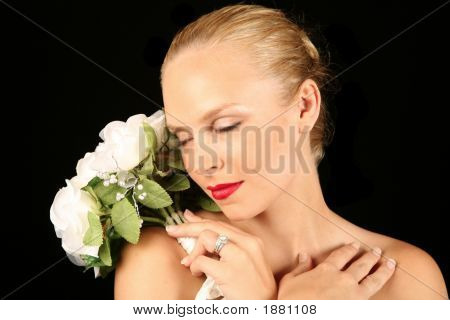 Bride With Eyes Closed, Dreaming Of Future
