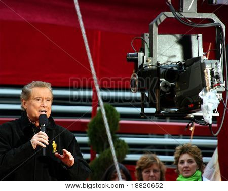 Regis Philbin at the  Oscar academy awards at the Kodak Theather in Los Angeles