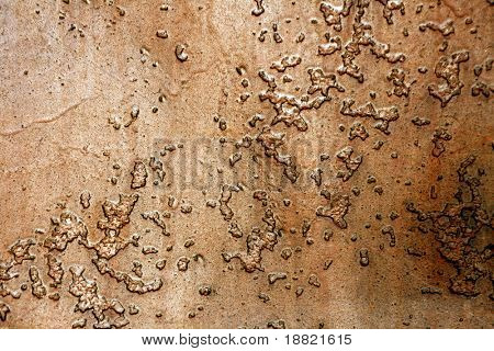 Grungy old steel background