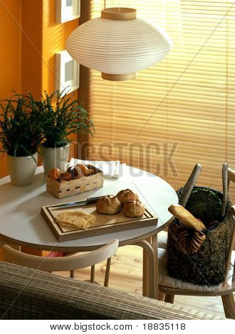 sunny dining rom