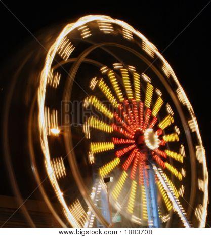 Ferris Wheel Blur