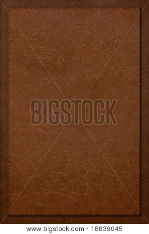 Red leather book cover frame texture background