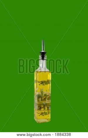 Bottle Of Virgin Olive Oil