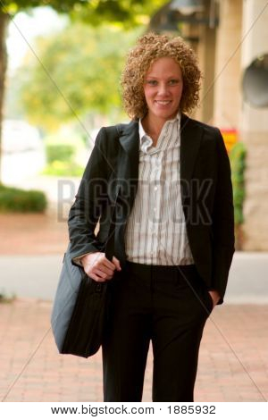 Business Woman In The City 11