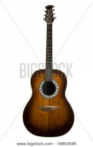 Classic acoustic guitar