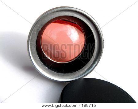 Rosetinted Lense