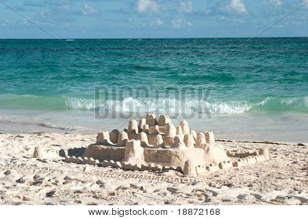 castle on sand