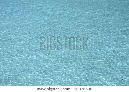 Ondulações na superfície do Oceano