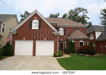 American Brick Home
