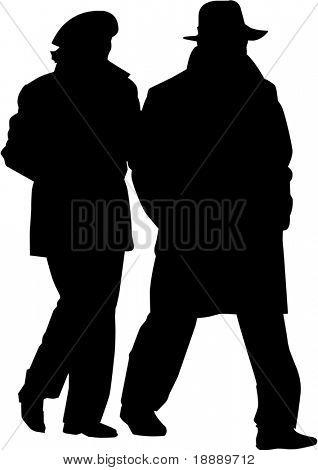 Vector de la imagen de hombre y mujer