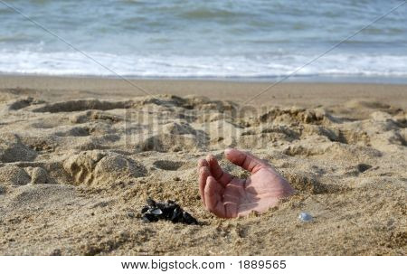 Hand In The Sand