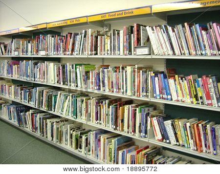 Categorized books