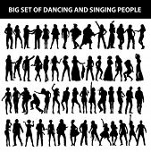 picture of pop star  - dancing and singing people - JPG