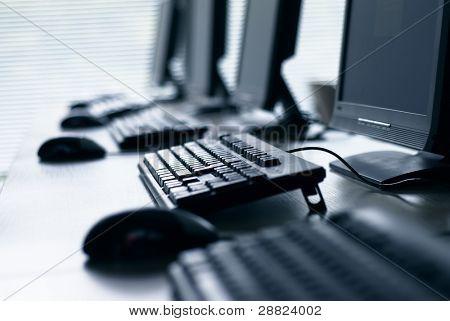Laboratorio de computación.
