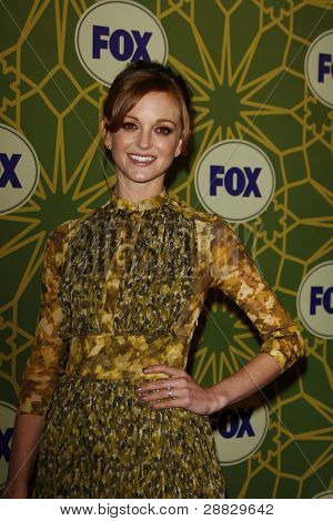 LOS ANGELES - JAN 8:  Jayma Mays at the FOX All Star Winter TCA Party at Castle Green on January 8, 2012 in Pasadena, California.