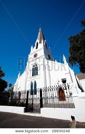 old church building in Stellenbosch, South Africa