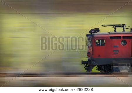Old Red Train