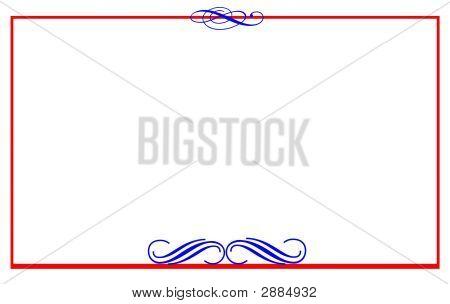 Formal Note Card Patriotic