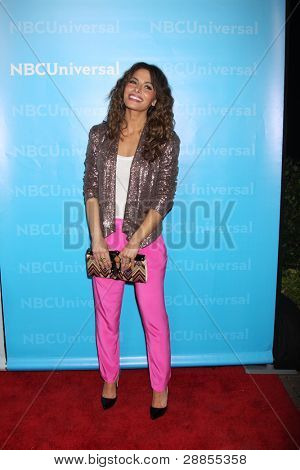 LOS ANGELES - JAN 6:  Sarah Shahi arrives at the NBC Universal All-Star Winter TCA Party at The Athenauem on January 6, 2012 in Pasadena, CA