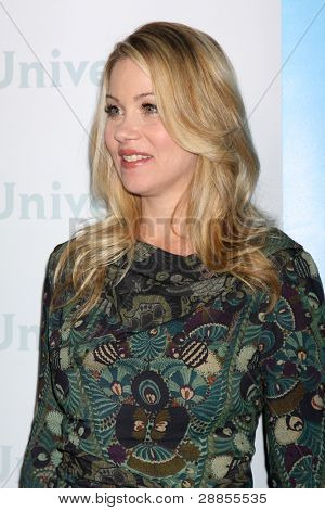 LOS ANGELES - JAN 6:  Christina Applegate arrives at the NBC Universal All-Star Winter TCA Party at The Athenauem on January 6, 2012 in Pasadena, CA