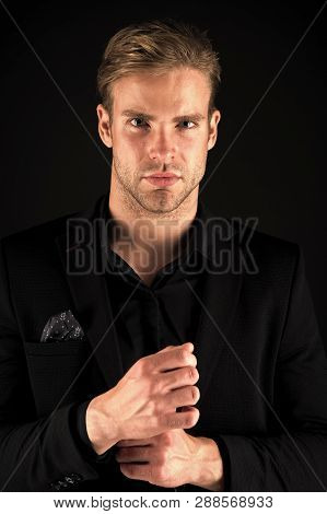 Agile Business Of Handsome Businessman
