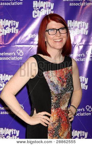 LOS ANGELES - JAN 13:  Kate Flannery arrives at  the