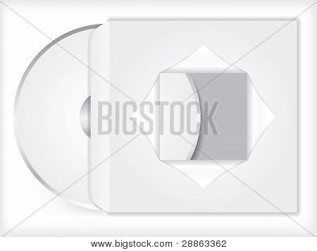 Blank Cd/dvd With Sleeve