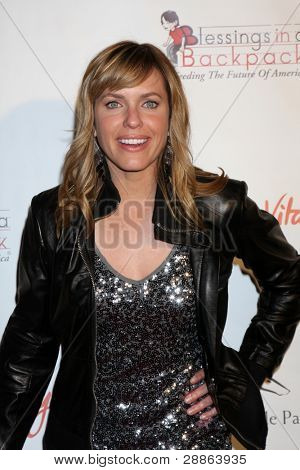 LOS ANGELES - JAN 12:  Arianne Zucker.. arrives at  the Los Angeles Derby Prelude Party at The London Hollywood Hotel on January 12, 2012 in West Hollywood, CA