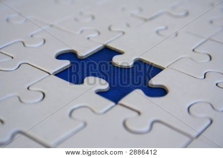 Final Blue Jigsaw Piece