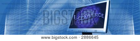 Banner E-Commerce And Binary