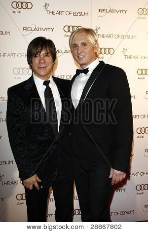LOS ANGELES, CA - JAN 14: Alan Siegel; David Meister at the 2012 Art of Elysium Heaven Gala at Union Station on January 14, 2012 in Los Angeles, California