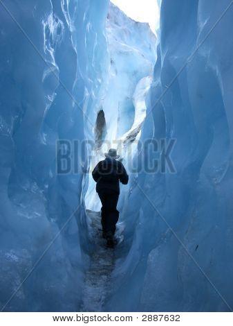 Inside Franz Josef Glacier