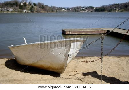 Tied Up Boat