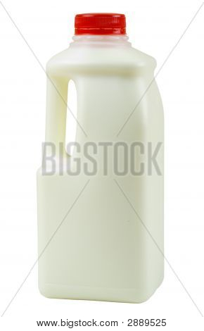 Bottle Of Milk One Quarter Size