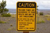 Health Sign Warning For Tourists poster
