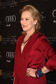 LOS ANGELES - JAN 14:  Meryl Streep arrives at  the BAFTA Award Season Tea Party 2012 at Four Seaons