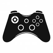 Video Game Controller Icon. Simple Illustration Of Video Game Controller Vector Icon For Web Design  poster